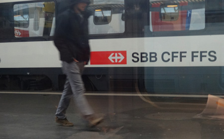 Symbolbild Bahnhofimpression SBB Prävention ropo